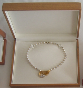 COLLIER PACKET - 15 pieces 10xmahony + 5xbrun = 200€
